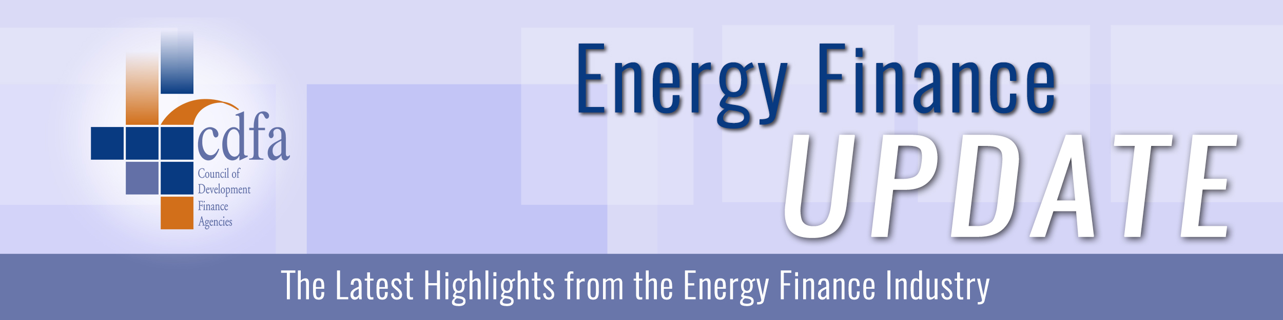 Energy & Water Finance Update