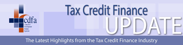 Tax Credits Finance Update