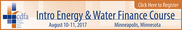 Intro Energy & Water Finance Course
