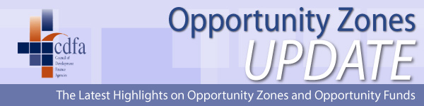 Opportunity Zones Update Newsletter