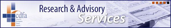 CDFA Research & Advisory Services