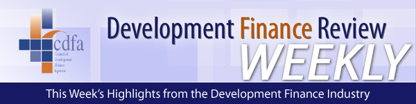 CDFA Development Finance Review Weekly