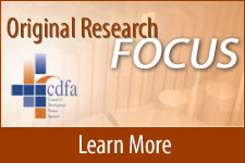 CDFA Original Research Focus