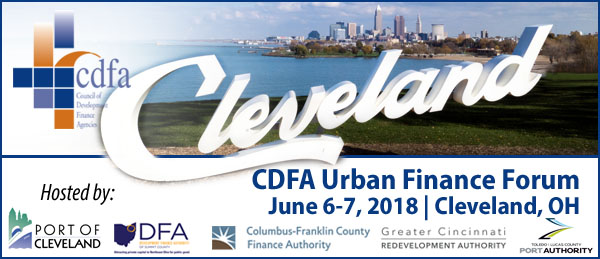 CDFA Urban Finance Forum