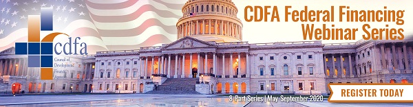 CDFA Federal Financing Webinar Series: TBD