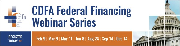 CDFA Federal Financing Webinar Series: Expanding Capital Access to Preserve Small Businesses