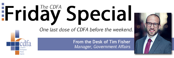 CDFA Friday Special from Tim Fisher