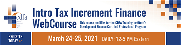 Intro Tax Increment Finance WebCourse