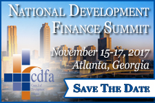 CDFA National Development Finance Summit
