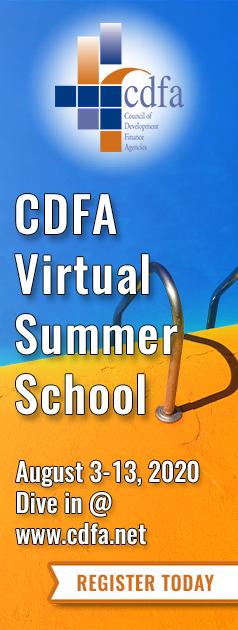 CDFA Summer School August 3-7, 2020. Register today.