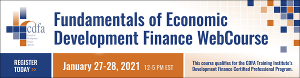 Fundamentals of Economic Development Finance WebCourse