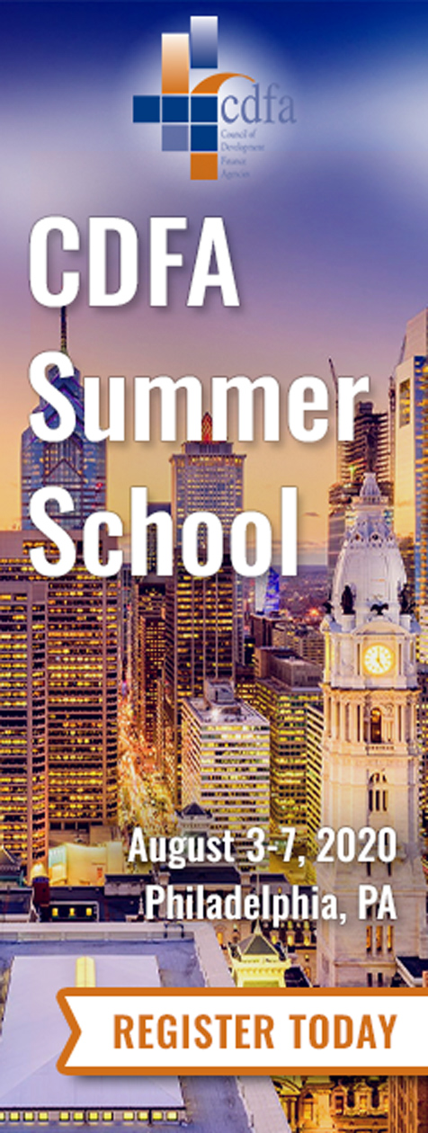 CDFA Summer School August 3-7, 2020. Register today.
