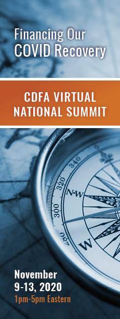 CDFA Virtual National Summit November 9-13, 2020