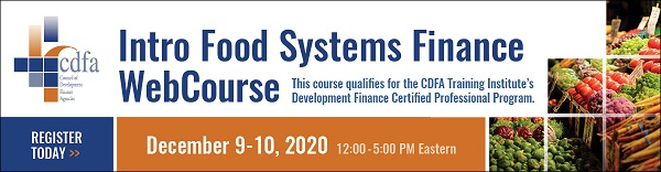 Intro Food Systems Finance WebCourse